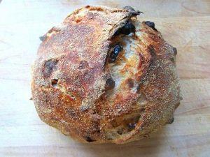 Italian-Whole-Wheat-Walnut-Raisin-Bread