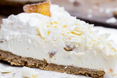 White Chocolate Ginger Cheesecake